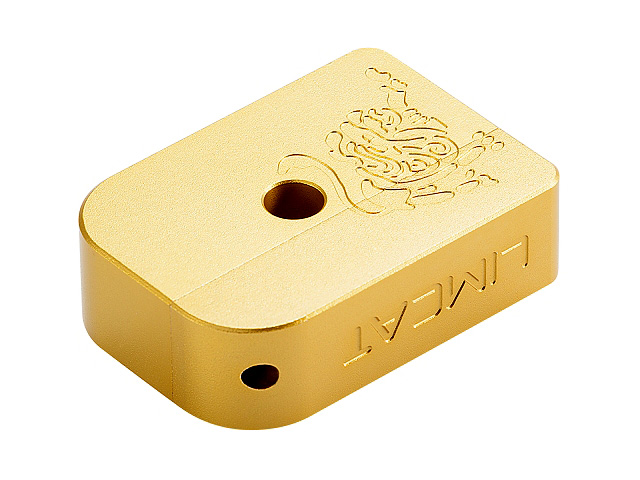 AIP CNC Limcat Puzzle Magazine Base for Marui Hicapa (Gold/L